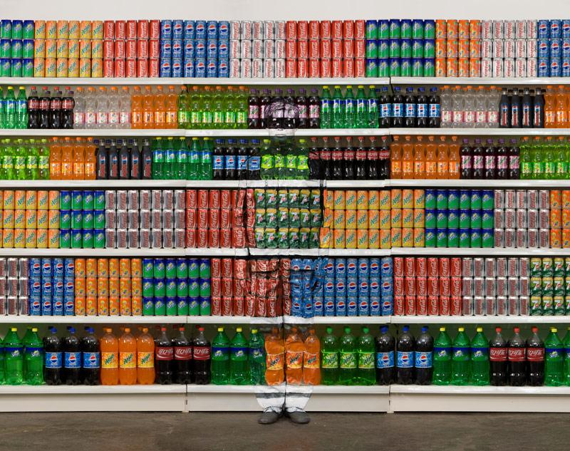 Liu Bolin, l'art de l'invisibilité ! dans Photos